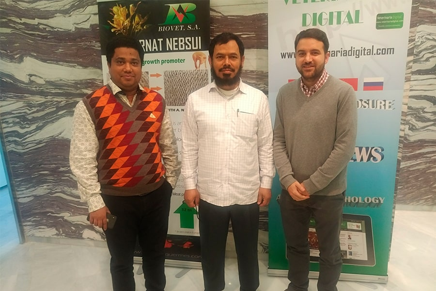 Biovet´s distributor in Bangladesh travels to Spain