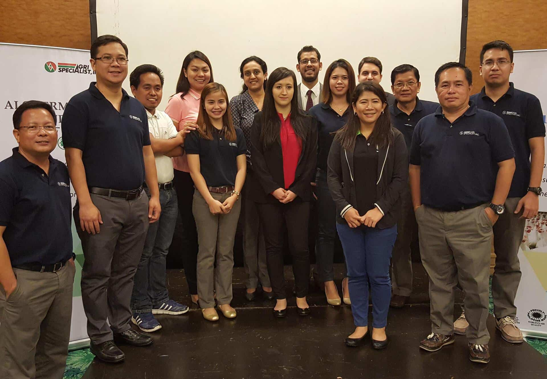 Technical-Commercial training of Biovet in Manila