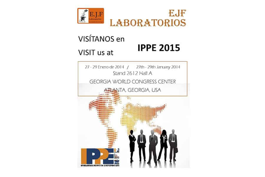 EJF Laboratories participation on IPPE 2015