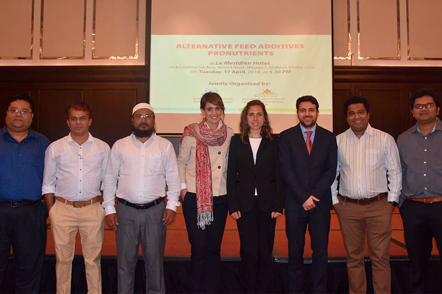 "The Seminar ""Alternatives to feed Additives: Pronutrients"" was held in April in Dhaka (Bangladesh)"