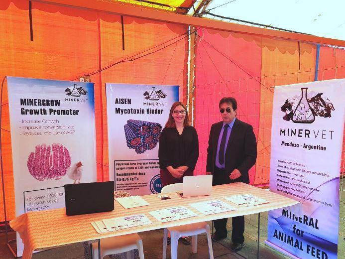 Minervet participates in the Expo Swine of Mendoza