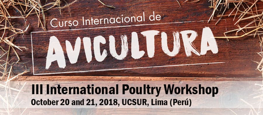 Poultry biosecurity, pathologies and necropsies, main topics of the III International Poultry Course