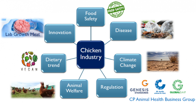Agri-food industry challenges in the near future
