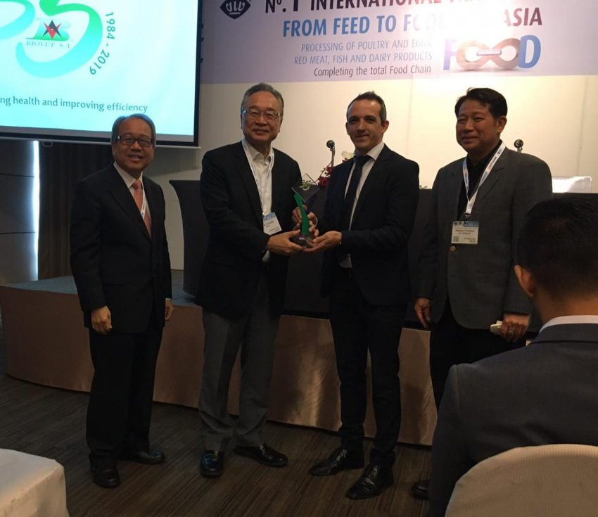 Biovet S.A. awarded for its veterinary research and innovation at VIV Bangkok 2019