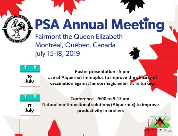 Natural immuno boosters and growth enhancers will be Biovet's flagship products for the PSA in Canada