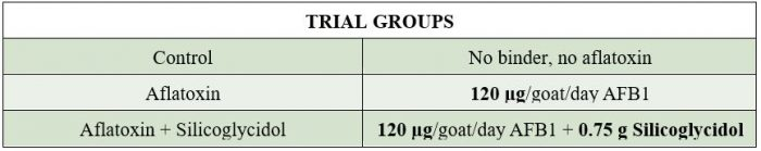 Trial groups