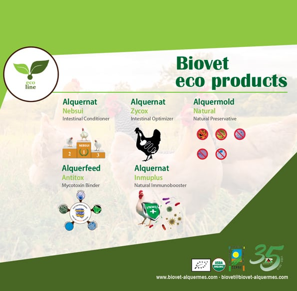 Biovet obtains the eco-certification