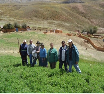Peruvian farmers and ranchers